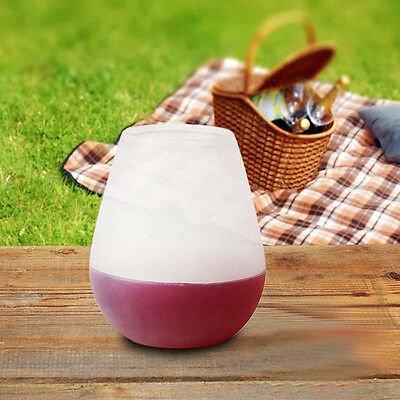 Unbreakable Stemless Silicone Wine Glass Collapsible Soda/Outdoor Cup