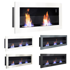 Large Bio Ethanol Fireplace Insert Wall Mount Alcohol ECO Heater Indoor Fire Pit