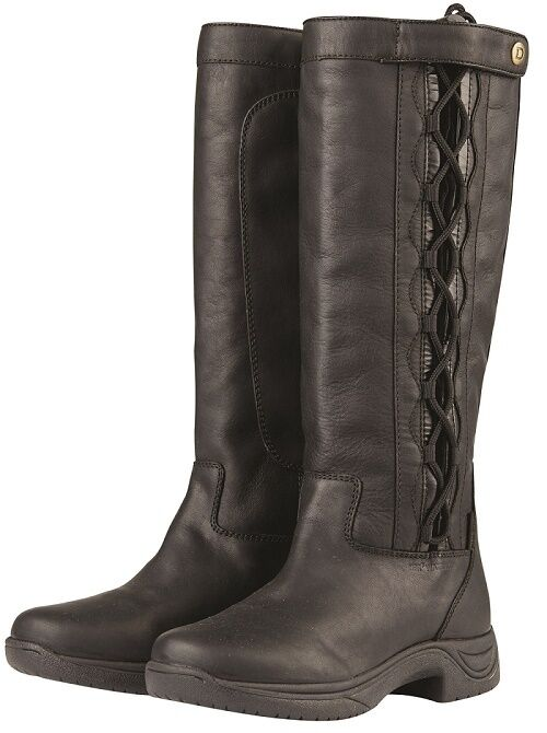 Dublin Pinnacle Grain Boots LACED UP WATERPROOF WIDE CALF ADJUSTMENT ALL SIZES