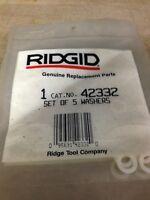 Ridgid Set Of 5 Washers 42332