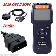 D900 Car Universal OBD2 EOBD Fault Code Reader Scanner Diagnostic Scan Tool 2016