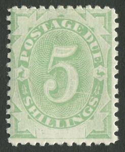 Postage-Dues-1902-SG-D8-5-Emerald-Green-with-variety-MLH-BW-D15d