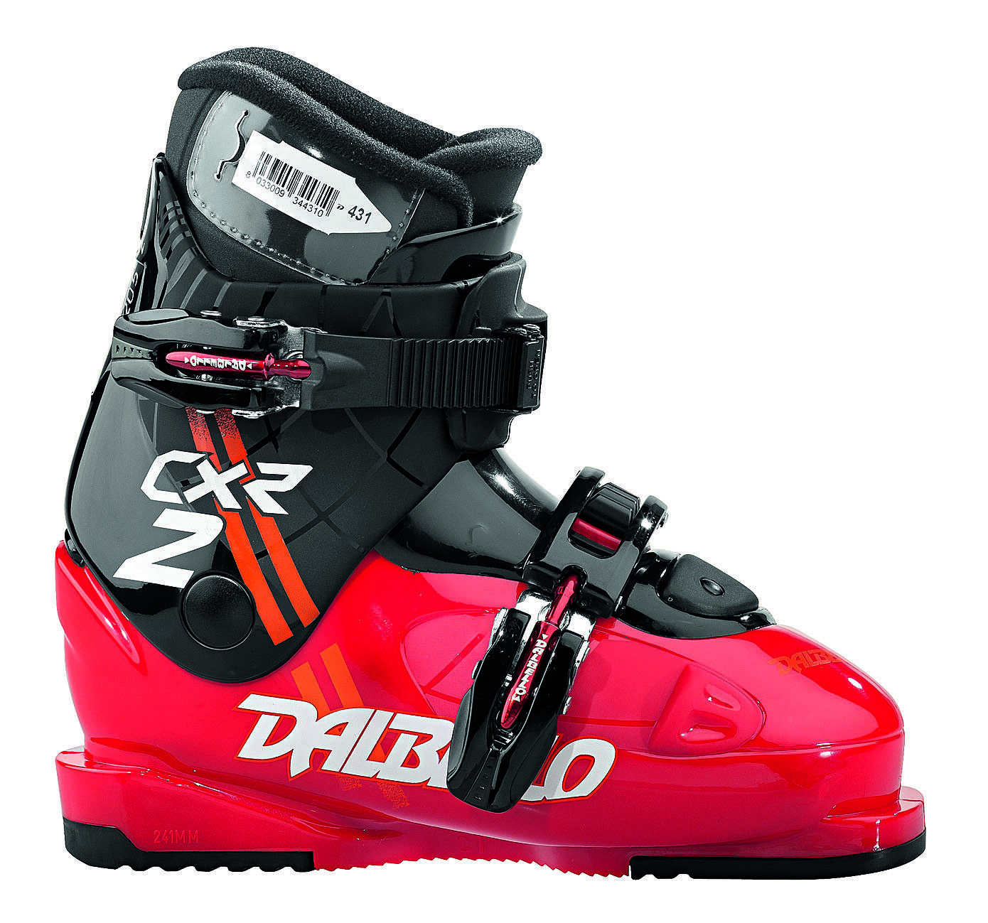 Dalbello RTL-CXR 2 Jr - Kinder Skischuh Ski Stiefel - DRC2J6.RA black red