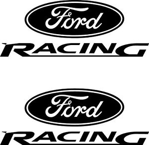LARGE Ford Racing Flag Car Bonnet Car Vinyl Graphic Sticker Van Panel Decal 65