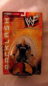 WWF-Backlash-Super-Star-Stone-Cold-Action-Figure-By-Jakks-Pacific-2000-NEW-t776
