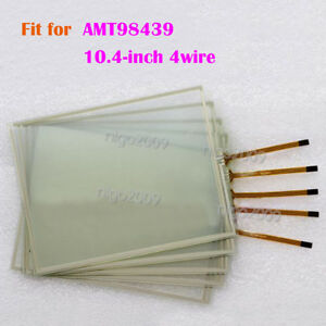 1PC for AMT98439  AMT 98439 10.4-inch 4 wire Touch Screen Glass Touch Panel New