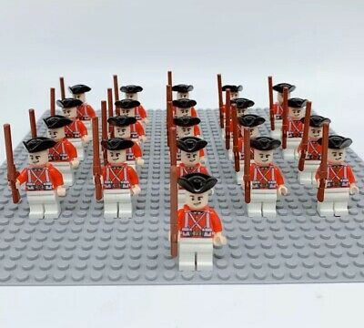 Mini Figures LEGO Compatible Pirates 21x Army Soldiers Imperial Guards