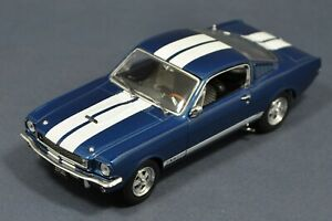 1-43-Shelby-GT350-1965-Blue-amp-White-stripes-Kyosho-03121B-IN-BOX-GT-350-Mustang