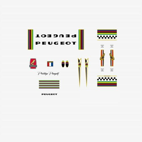 n.750 PY10 Frame Stickers Peugeot PX10 Decals