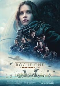 Affiche-Pliee-40x60cm-ROGUE-ONE-A-Star-Wars-Story-2016-Felicity-Jones-NEUVE