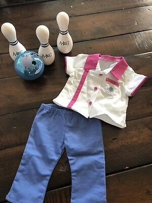 American Girl Doll 2009 Bowling Game and Outfit NEW!!