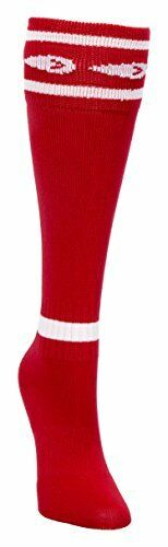 Pee-Wee Size:9-2 mitre Red Soccer Socks