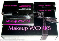 Makeup Works Classic Daytime Look Lip Gift Set In Gift Box With Dvd (new/boxed)