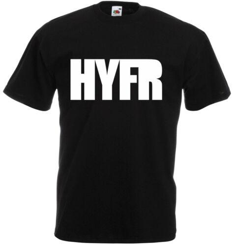 Gangster HYFR Drake Rap inspired Men/'s Printed T-Shirt Casual Top Cotton Tee