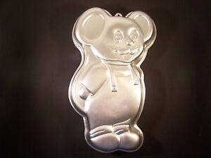 Bakeware & Ovenware Cake Tins Vintage 1987 Large Wilton Little Mouse Cake Pan