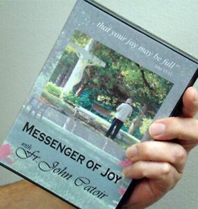 """Fr. John Catoir - """"Messenger of Joy"""" - DVD -- RARE"""