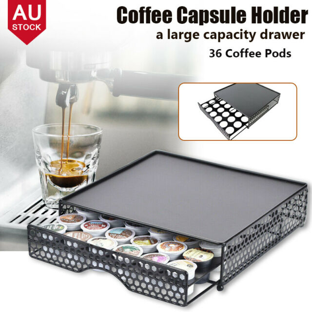 Coffee Machine Stand & Nespresso Dolce Gusto Capsule Pod Storage Drawer Holder