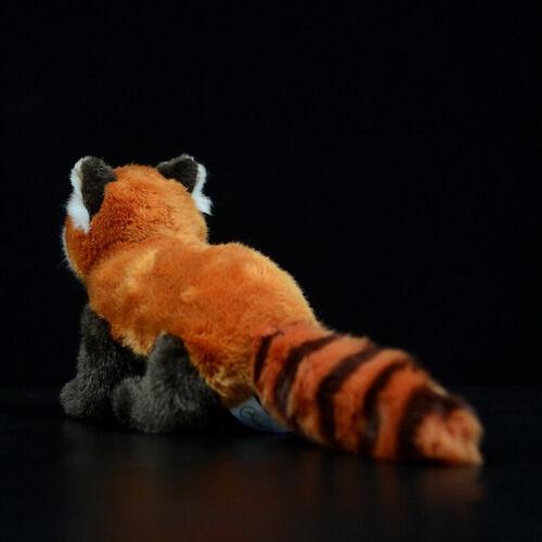 Cute Soft Wild Red Panda Raccoon Plush Doll Stuffed Emulational Animal Ornament