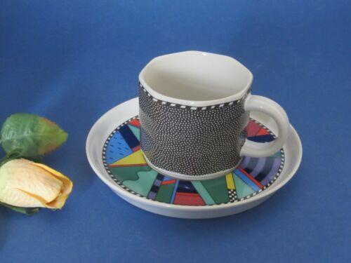 SCENARIO METROPOL  Kaffeetasse mit Untertasse TOP ROSENTHAL Barbara Brenner