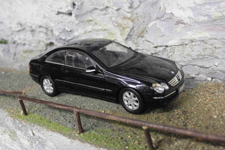 Kyosho Mercedes-Benz CLK-Class Coupé 1 18 black