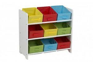 Kindermöbel regal  Kinderregal Kindermöbel Spielzeugkiste Regal Spielzeugbox + Box ...