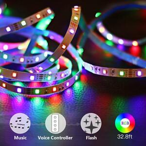 GOORRY-Led-Music-Strip-Lights-32-8ft-RGB-Sync-to-Music-Color-Changing-Light