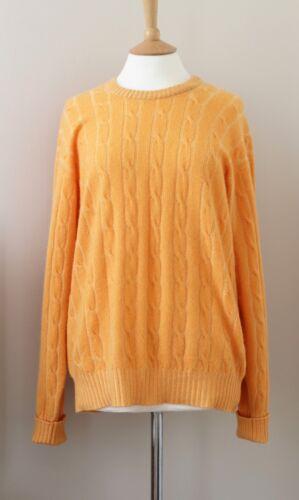 girocollo Asser arancione in Turnbull Maglione Large cashmere vqUgHw