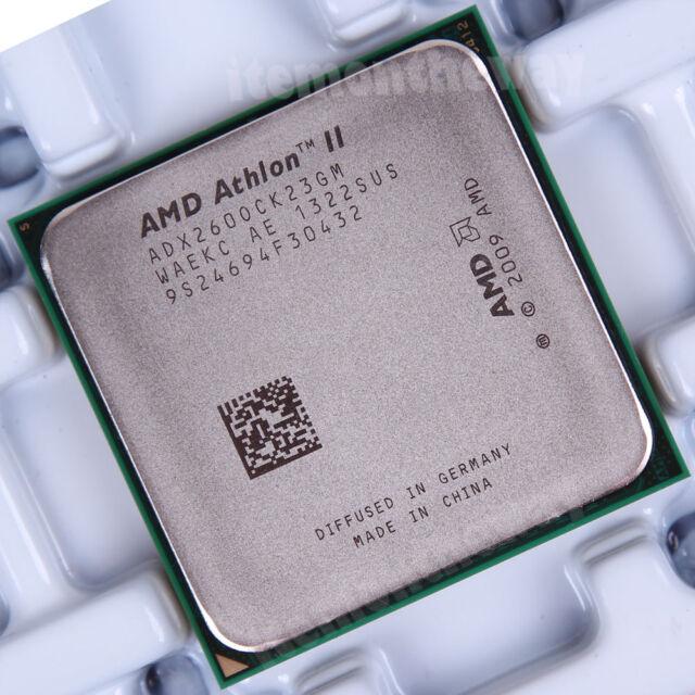 Original AMD Athlon II X2 260 ADX260OCK23GM Prozessor 3.2 GHz Dual-Core AM3 Skl