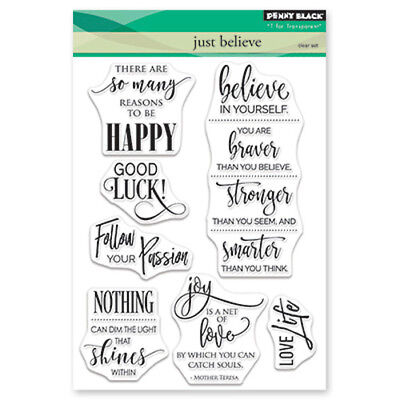 Penny Black Clear Stamps Set CARS Happy Birthday Trucks Set of 9  New just out