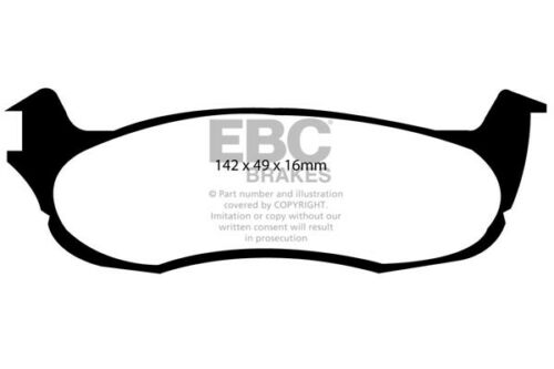 2000 /> 04 EBC Ultimax Rear Brake Pads for Ford F-150 2WD