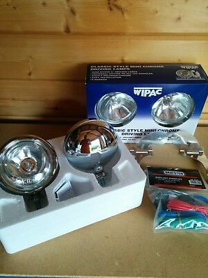 Wipac S6066 Stainless Steel Spot Lights /& Auxiliary Driving Lamps