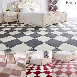 Puzzle-Anti-Skid-Shaggy-EVA-Foam-Area-Rug-Bedroom-Carpet-Floor-Mat