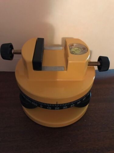 Excellent Condition Cst//Berger Rotary 360 Degree Tripod Adapter