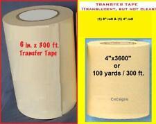 4 Amp 6 Application Transfer Paper Tape 300 Ft Roll For Vinyl Cutter Plotter