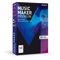 Magix Music Maker Premium Software (download)