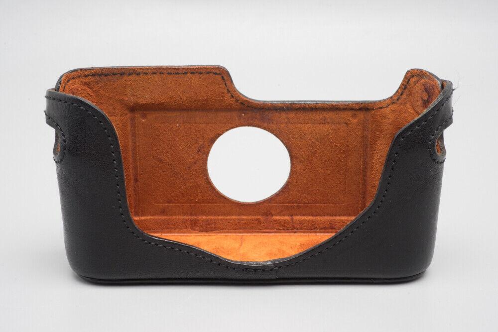 Artisan & Artist LMB-M3 Black Leather Camera Half Case for Leica M2 M3 M4 M6 MP