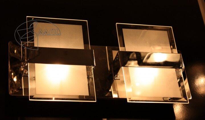 Applique Mur Murale Mur Applique Lampe Luminaire Éclairage Salon Cuisine Couloir Carré ae0c59