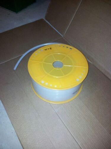 12x9 mm Pneumatik PE Schlauch milchig weiß 80 meter ETPETUBEW12x9-R