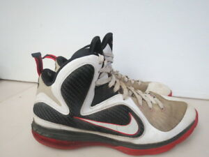 huge discount 097a2 a59fa Details about Nike Lebron James 9 IX Men's Basketball Shoes 469764-100 SIZE  14 D450K