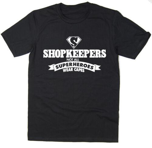 Comerciantes-no todos los superheroes desgaste Cabos-Gracioso T-Shirt-Muchos Colores