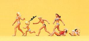 """Preiser 10211 h0 personnages /""""à la plage/"""" #neu en OVP #"""