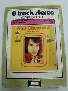 NEIL-DIAMOND-Solitary-Man-8-TRACK-TAPE-CARTRIDGE