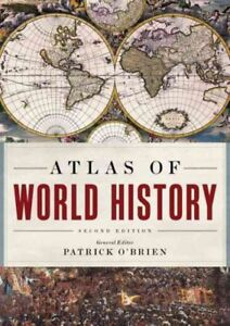 Atlas-of-World-History-Hardcover-by-O-039-Brien-Patrick-EDT-Brand-New-Free