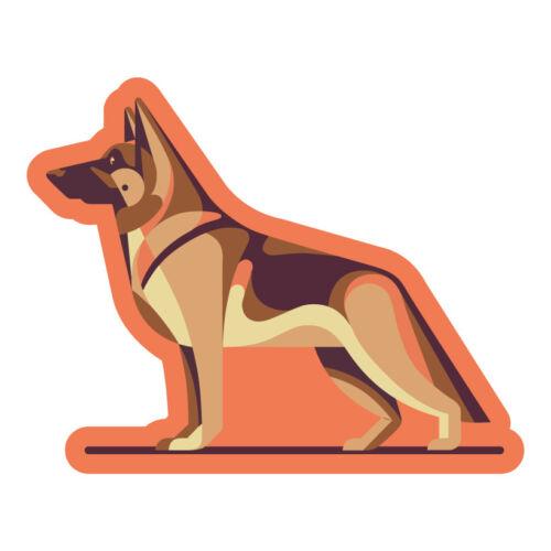 German Shepherd StickerDie Cut Vinyl
