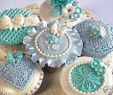 Katy Sue Christmas BAUBLES Embellishment Silicone Sugarcraft Cake Mould Art