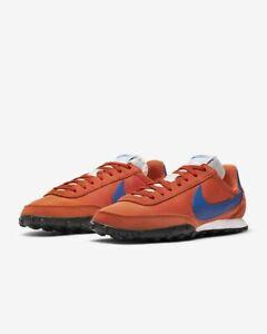 Nike-Waffle-Racer-Size-8-Men-039-s-Trainers-Orange-Black