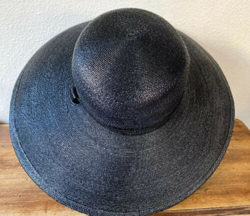 Vintage Amen Wardy Large Hat ! 1980's Large Brim … - image 1