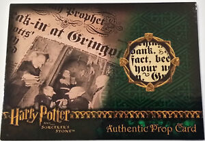 Harry-Potter-and-the-Sorcerer-039-s-Stone-The-Daily-Prophet-Prop-Card-HP-SS-Variant