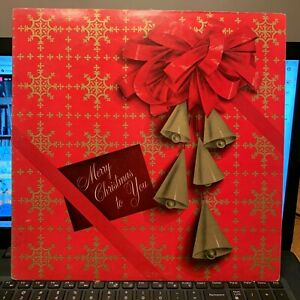 Singing Strings Herald Christmas  - vintage OG vinyl LP - Stradivarius Society