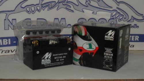 BATTERIE MIDAC  MTZ10S-BS=YUASA YTZ10S-BS MV AGUSTA F4 1000 2006-2007